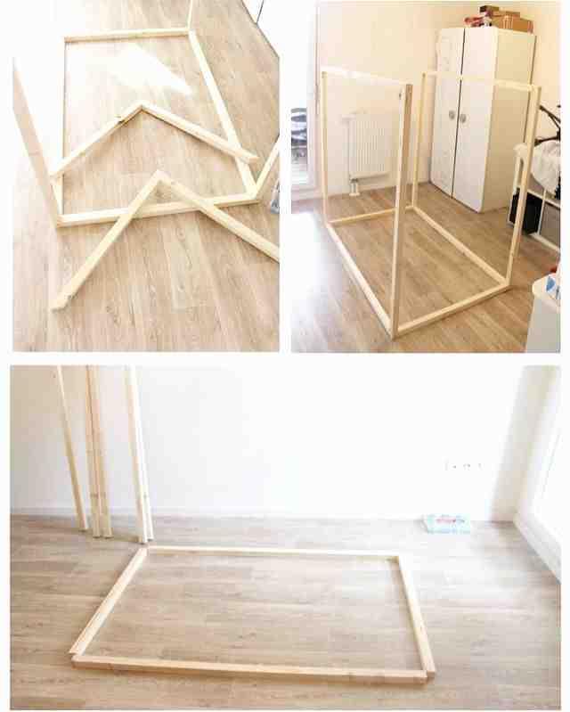 Comment construire une cabine dans votre lit?